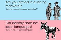 """Que o português é """"tricky"""", já o sabíamos. E que tal testar esta expressiva manha lexical na língua inglesa"""