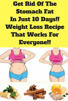 With this recipe you can reduce waist fat and get rid of excess water from the body, so you will not feel bloated anymore.