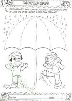 Arte de Educar: Pontilhados para maternal Tracing Worksheets, Kindergarten Worksheets, Autism Activities, Activities For Kids, Children With Autism, Communication Skills, Paper Quilling, Little Sisters, Motor Skills