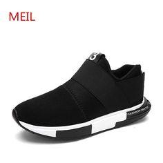 406f86d701 Men shoes 2018 fashion breathable loafers casual shoes men Designer  sneakers chaussure homme trainers platform shoes for men