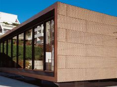 Metal sheet and panel for facade TECU® Bronze by KME Italy S.p.A. - ARCHITECTURAL SOLUTIONS