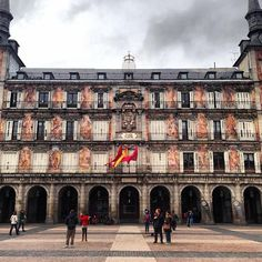 """See 7694 photos and 467 tips from 54590 visitors to Plaza Mayor. """"If you take the exit at the corner behind the horse to the right it will take you to. Real Madrid, Valencia, Barcelona, Spain And Portugal, Eurotrip, Spain Travel, Louvre, Explore, Country"""