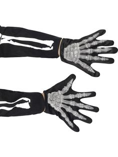 Skeleton Gloves, Child - Party Supplies from Novelties Direct - Novelties (Parties) Direct Ltd Costume Halloween, Halloween Costume Accessories, Halloween Fancy Dress, Halloween Kids, Skeleton Gloves, Monogram Sweatshirt, Fancy Dress Accessories, Mitten Gloves, Accessories