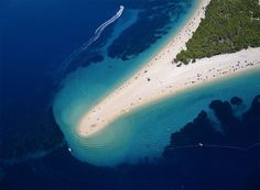 36 Incredible Places To See On Earth - Golden Horn, Brac Island, Croatia Best Beaches In Europe, Beaches In The World, Places Around The World, Around The Worlds, Places To Travel, Places To See, Travel Destinations, Travel Europe, Travel Tourism