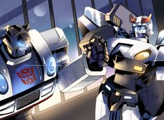 Jazz and Prowl - Transformers _56 by ~yfm