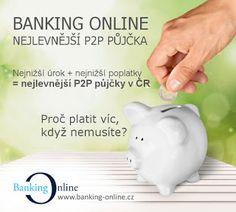 #P2P půjčka s nejnižším úrokem v ČR - od 3% Nejnižší poplatky v ČR - pouze 1,5% ze zprostředkované půjčky  #p2p #pujcky #bankingonline #uroky #poplatky #penize