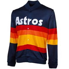 2c17b3ffe Mitchell   Ness Houston Astros 1986 Authentic Sweater - Navy Blue