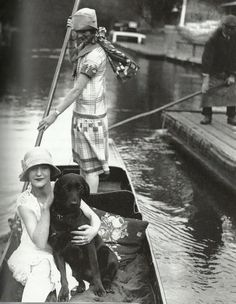 Row row row your…. Boat! 1920's style
