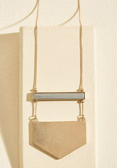 A Game of Give and Shape Necklace