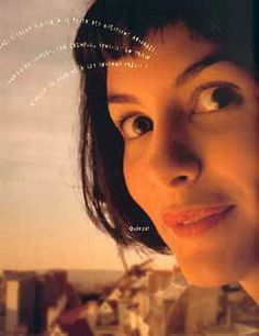 Amelie my favorite film! Amelie, Audrey Tautou, Timeless Series, French Films, French Actress, Film Books, Love Movie, Pretty Pictures, Cinematography