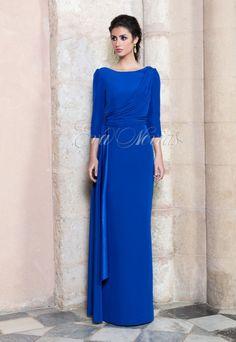 Vestido de fiesta #Vicky Martin Berrocal modelo 304. VIA: http://goo.gl/zeUPaG #boda #vestidodefiesta #madrina #madrid #tienda