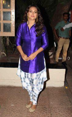 Sonakshi Sinha at Ekta Kapoor Diwali Party