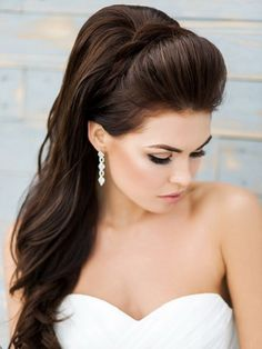 How To Create The Perfect Ponytail – Best Tips And Hacks – Hairdo Chicks Bridal Ponytail, Simple Bridal Hairstyle, Simple Wedding Hairstyles, Sleek Ponytail, Formal Ponytail, Ponytail Hairstyles, Bride Hairstyles, Vintage Hairstyles, Down Hairstyles