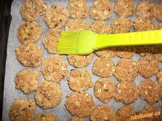 Kokosové sušenky z ovesných vloček bez mouky