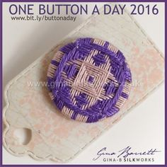 Day 58: Icon #onebuttonaday by Gina Barrett