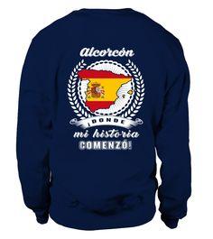Alcorcón - Mi Historia Comenzó!  Historian shirt, Historian mug, Historian gifts, Historian quotes funny #Historian #hoodie #ideas #image #photo #shirt #tshirt #sweatshirt #tee #gift #perfectgift #birthday #Christmas