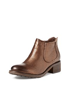 Jo Metallic Ankle Boot by Modern Vintage at Gilt