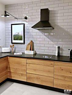 modern Scandinavian home interior design 5 Industrial Kitchen Design, Kitchen Room Design, Modern Kitchen Design, Home Decor Kitchen, Interior Design Kitchen, Kitchen Furniture, New Kitchen, Home Kitchens, Kitchen Styling