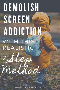 The 7 Step Method to Save Your Kids from Screen Addiction - Gentle Parenting, Kids And Parenting, Parenting Hacks, Screen Time For Kids, Kids Sand, Happy Kids, Happy Family, Toddler Activities, Free Activities