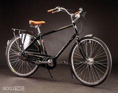 BLACK electra bike