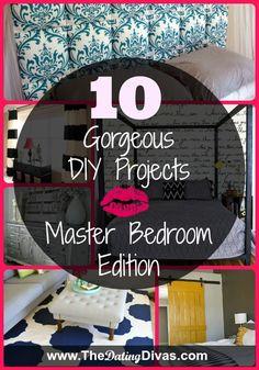 DIY bedroom decor, master bedroom ideas, how to design a bedroom, DIY ideas for bedrooms – Home Decor