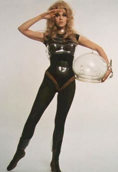 Barbarella & Other Ladies in Space, retro-futuristic, science fiction