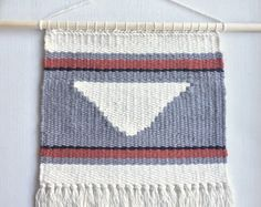 Woven Wall Hanging by CollectivelyZ on Etsy