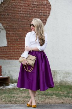 Radiant Orchid fashion #moms #style