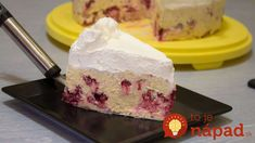 Brza torta sa malinama i piškotama – video — Domaći Recepti Fruit Recipes, Baking Recipes, Cake Recipes, Dessert Recipes, Torte Recepti, Kolaci I Torte, Brze Torte, Torte Cake, Ice Cream Candy