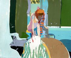 Figure Painting 54 by Kim Frohsin  ~  x