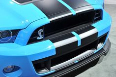 Сердитый Ford Shelby GT500 2013–года