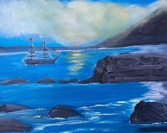 Edit Existing Image Acrylic Paintings, Landscape Paintings, Fine Art, Water, Outdoor, Image, Gripe Water, Outdoors, Landscape