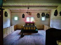 Die Kapelle von Sutlepa, Estnisches Freilichtmuseum in  Rocca al Mare bei Tallinn.  Foto: Zairon, wikimedia.org