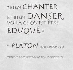 Citations De Danse sur Pinterest   Danse, Problèmes De Danseur et ...