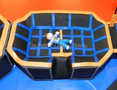 trampoline birthday cake | trampoline cake mdash childrens birthday cakes 16150jpg Birthday Party At Park, Themed Birthday Cakes, 15th Birthday, Themed Cakes, Birthday Ideas, Trampoline Cake, Gymnastics Cakes, Minecraft Party, Eat Cake