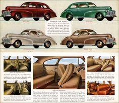 1942 Chevrolet Master de Luxe model line up