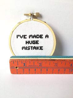 Arrested Development Quote I've made a huge mistake by GraceyMay, $25.00