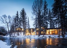 Riverside House by Studio B Architects