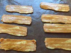 Chickpea Baccon gluten free
