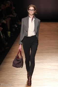 Boy meets girl fashion for the fall.