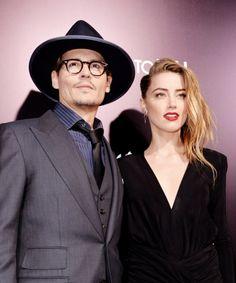 ¡Johnny Depp y Amber Heard festejaron su compromiso!