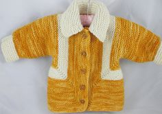 Toddler Cardigan Sweater by KingstonAlpacaKnits on Etsy