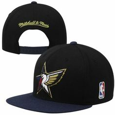 Mitchell & Ness New Orleans Pelicans 2014 NBA All-Star Game 2-Tone Snapback Hat - Black/Navy Blue