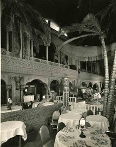 Cocoanut Grove, The Ambassador Hotel Los Angeles