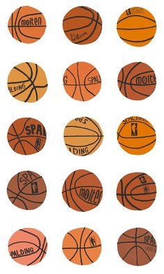 love this basketball illustration
