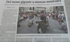 Musico Moskas en Pontevedra