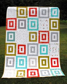 FREE PATTERN: Apple Crate Quilt (from Moda Bake Shop)