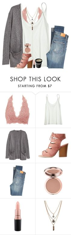 """S H I N E"" by southernstruttin ❤ liked on Polyvore featuring Charlotte Russe, Calypso St. Barth, H&M, Citizens of Humanity, MAC Cosmetics and Forever 21"