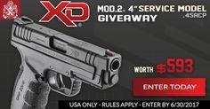 "https://wn.nr/gGP5VC   Win a Springfield Armory XD MOD.2 4"" Service Model Pistol in .45ACP worth $593!r"