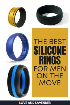 Sometimes shiny isn't as important as reliable. Silicone rings are the gamechanger! Here are our suggestions for the best silicone rings for men that they'll surely wear! #siliconerings #siliconeringsformen #siliconeweddingrings #siliconeweddingbands Best Silicone Rings, Tickle Fight, Silicone Wedding Band, Girl Thinking, Back To Basics, Metal Bands, How To Look Pretty, Wedding Bands, Rings For Men